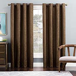 Tribeca Grommet Top Lined Window Curtain Panel