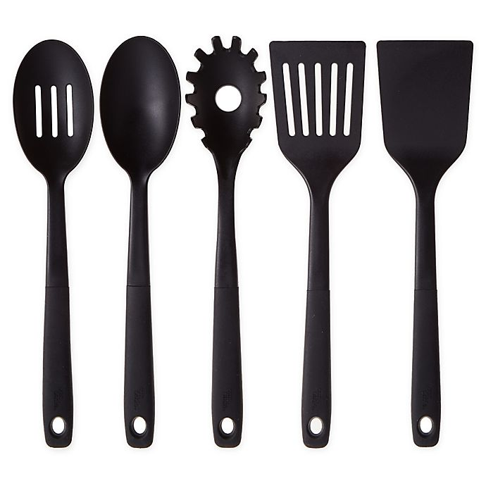 Alternate image 1 for Our Table™ Nylon Utensil Collection in Black