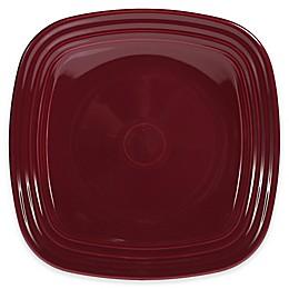 Fiesta® Square Dinner Plate in Claret