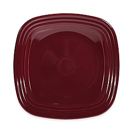 Fiesta® Square Luncheon Plate in Claret