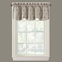 Paxton Scalloped Window Valance in Linen