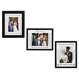 Wedding Vows Matted Frame Collection