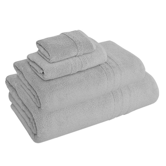 Buy Turkish Hand Towel: Buy Aero Luxe Turkish Cotton Hand Towel In Grey From Bed