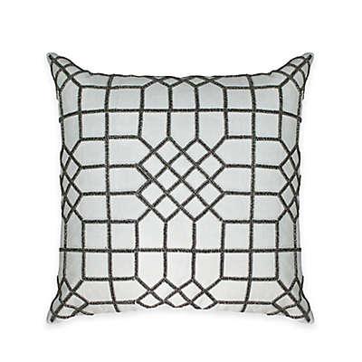 Austin Horn Classics Beaded Flow Square Throw Pillow