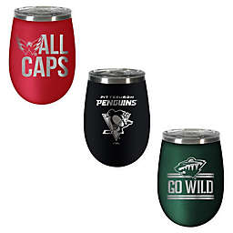 NHL 10 oz. Rally Cry Wine Tumbler Collection