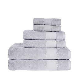 Therapedic® Cotton Bamboo 6-Piece Bath Towel Set