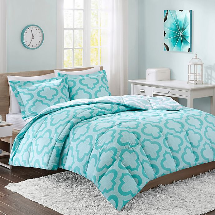 Intelligent Design Pilar Reversible Twin Twin Xl Comforter Set In