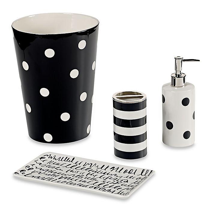 Alternate image 1 for kate spade new york Deco Dot Bath Ensemble