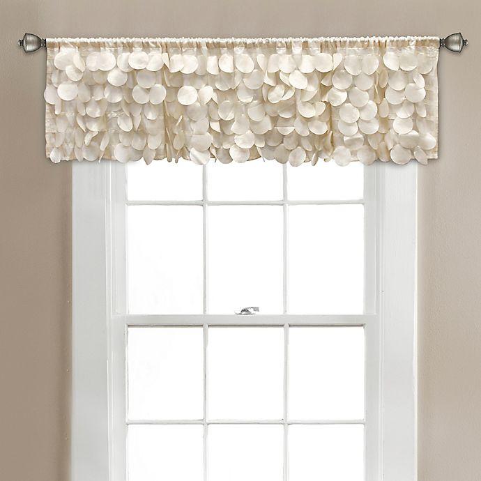 Alternate image 1 for Gigi 70-Inch x 14-Inch Bath Window Curtain Valance in Ivory