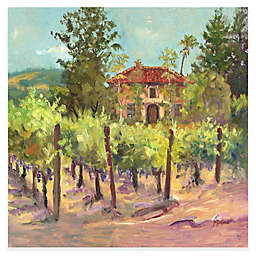 Tuck's Vineyard 24-Inch x 24-Inch All-Weather Outdoor Canvas Wall Art