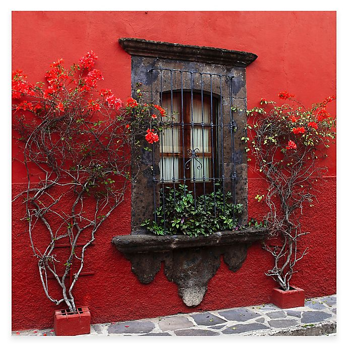 Roses In Red All Weather Outdoor Canvas Wall Art Bed Bath Beyond