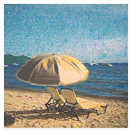 Two Relaxed All Weather Outdoor Canvas Wall Art