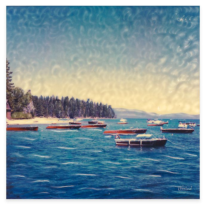 Alternate image 1 for Wooden Boats All Weather Outdoor Canvas Art
