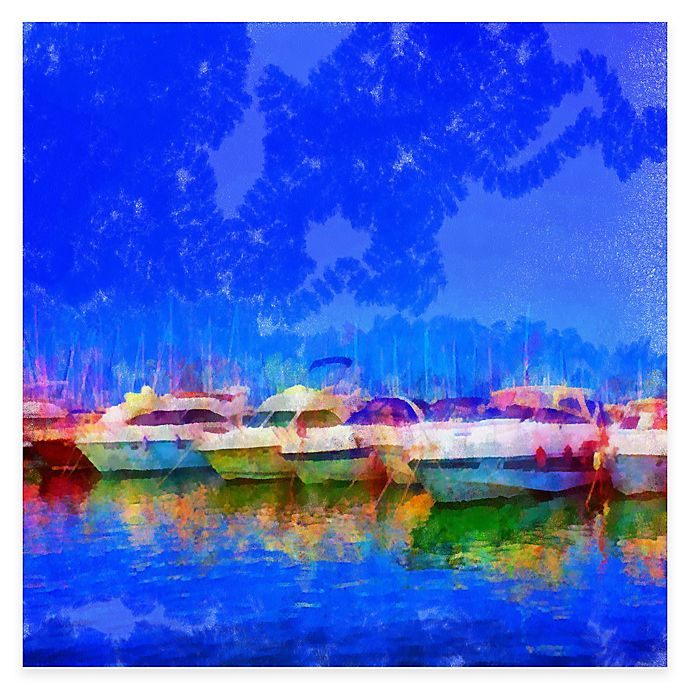 Alternate image 1 for The Marina All Weather Outdoor Canvas Art