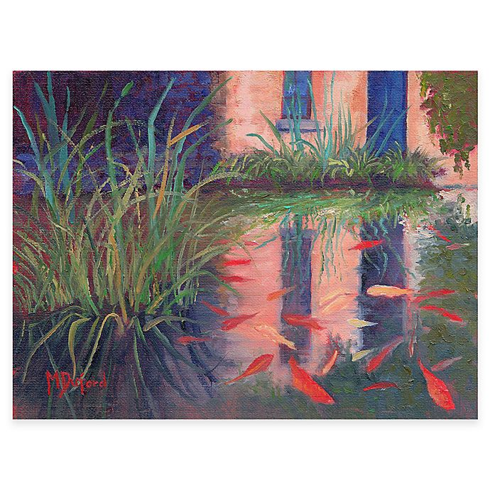 Coy Koi All Weather Outdoor Canvas Wall Art Bed Bath And Beyond Canada