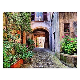 Arched Entry All Weather Outdoor Canvas Wall Art