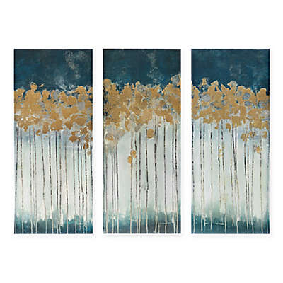 Madison Park Midnight Forest 3-Piece Canvas Wall Art
