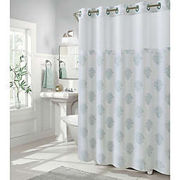 Hookless® Coral Reef 54-Inch x 80-Inch Shower Curtain in Grey Mist