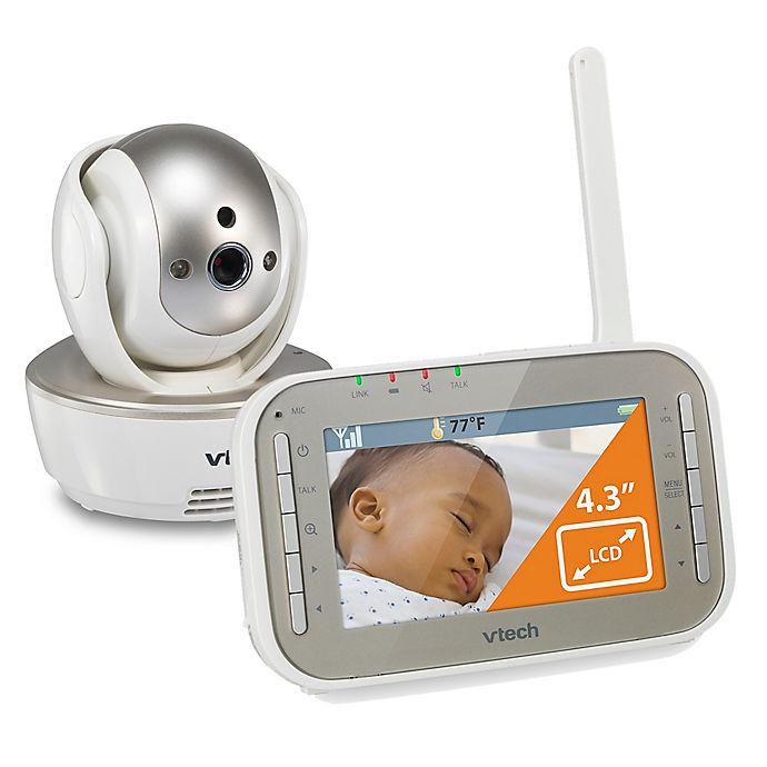 Alternate image 1 for VTech® VM343 4.3-Inch Digital Video Baby Monitor w/ Pan/Tilt and Night Vision