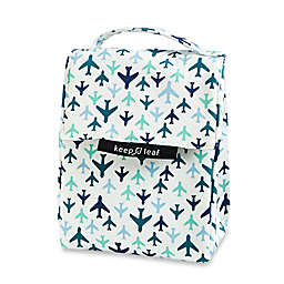 Keep Leaf Organic Cotton Insulated Lunch Bag in Planes