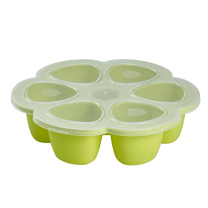 Alternate image 1 for Beaba® Multiportions Freezer Tray in Green