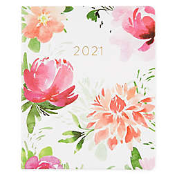 Eccolo Watercolor 2021 Faux Leather Agenda