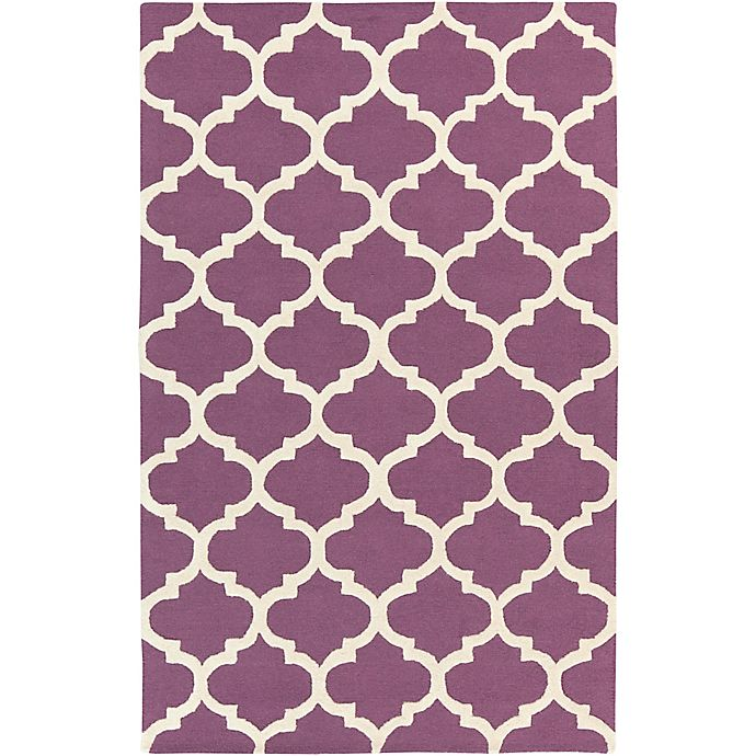 Alternate image 1 for Artistic Weavers Pollack Stella 2-Foot x 3-Foot Area Rug in Purple/White