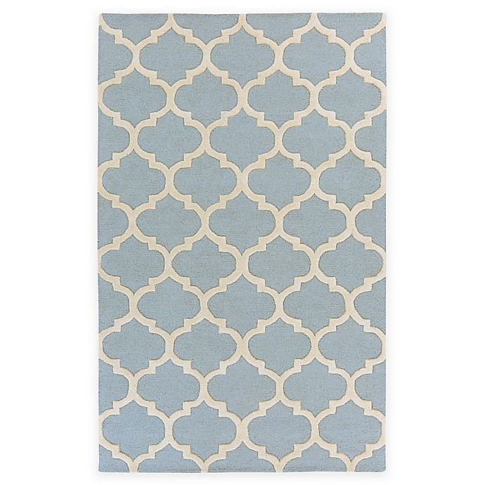 Alternate image 1 for Artistic Weavers Pollack Stella 4-Foot x 6-Foot Area Rug in Light Blue/White