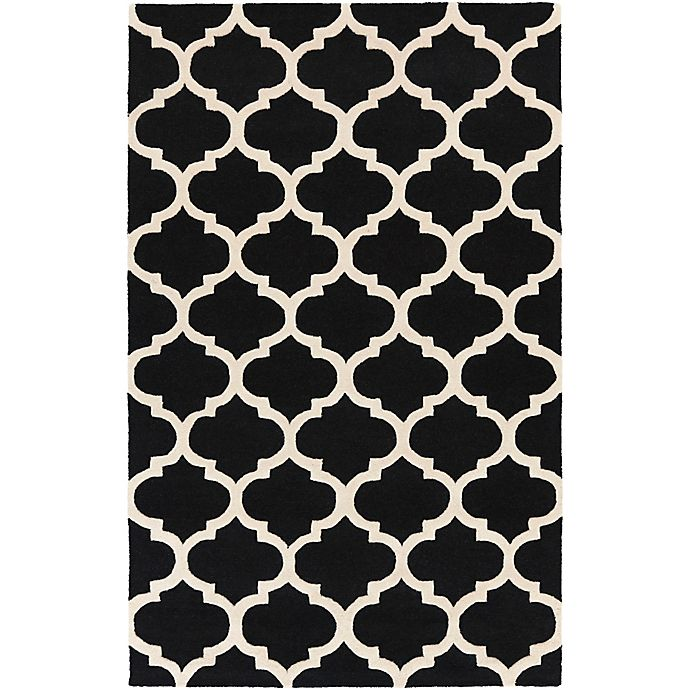 Alternate image 1 for Artistic Weavers Pollack Stella 7-Foot 6-Inch x 9-Foot 6-Inch Area Rug in Black/White