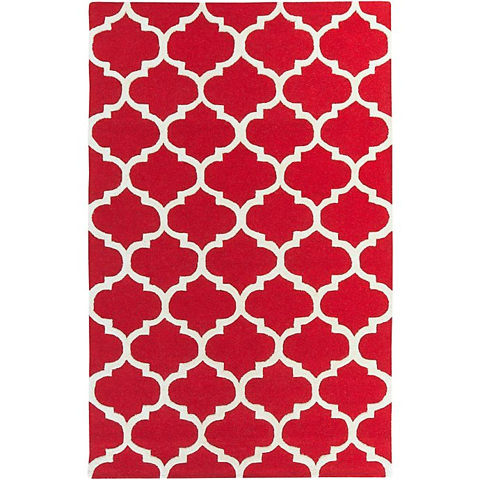 Alternate image 1 for Artistic Weavers Pollack Stella 8-Foot x 11-Foot Area Rug in Red/White