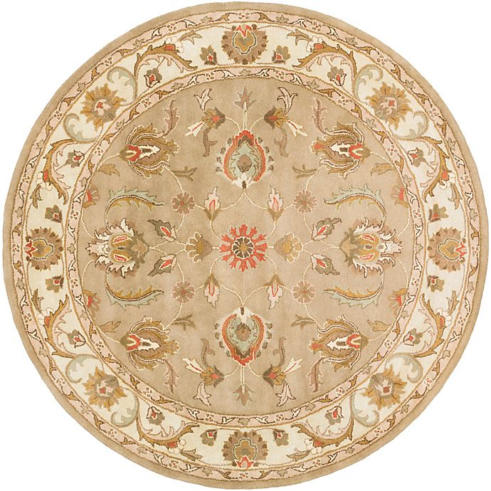 Alternate image 1 for Artistic Weavers Oxford Isabelle 8-Foot Round Rug in Green