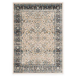 Safavieh Persian Garden Vintage Arch 4-Foot x 5-Foot 7-Inch Area Rug in Ivory/Navy