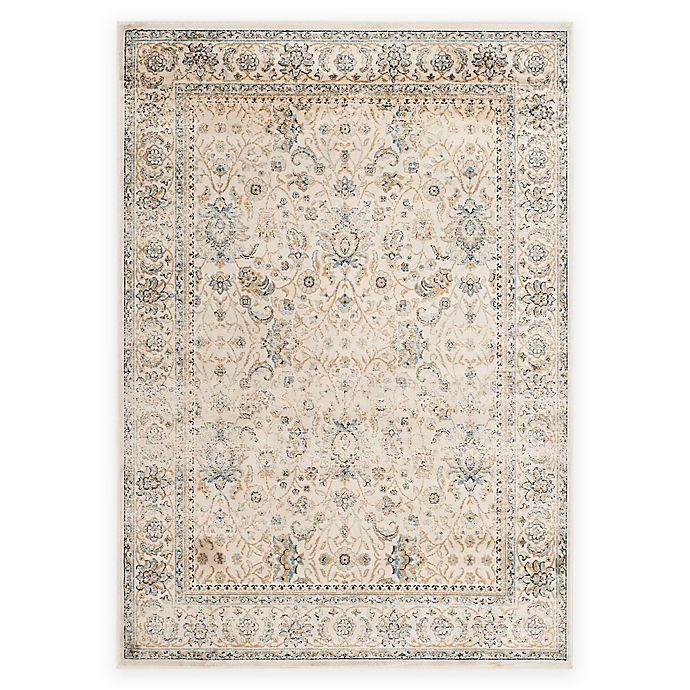 Alternate image 1 for Safavieh Persian Garden Vintage Floral 4-Foot x 5-Foot 7-Inch Area Rug in Ivory
