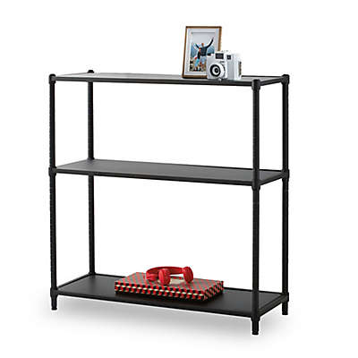 Studio 3B™ Metro 3-Tier Bookcase in Black