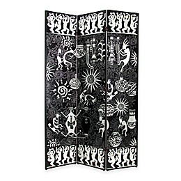 Wayborn Santa Fe Screen in Black/Silver