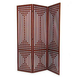 Wayborn Sarawak Traditional Wooded Room Divider Screen