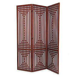Wayborn Sarawak Traditional Wooded Room Divider Screen
