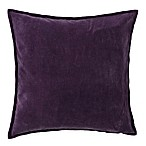 Surya Velizh 22-Inch Square Throw Pillow in Eggplant