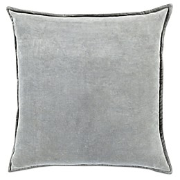 Surya Velizh 22-Inch Square Throw Pillow in Light Grey