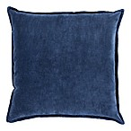 Surya Velizh 22-Inch Square Throw Pillow in Navy