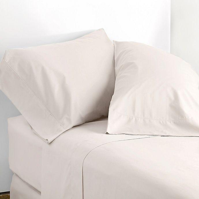 Alternate image 1 for Modern Living 300-Thread-Count King Sheet Set in Cream