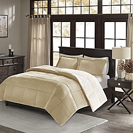 Madison Park Jackson Corduroy Reversible Comforter Mini Set