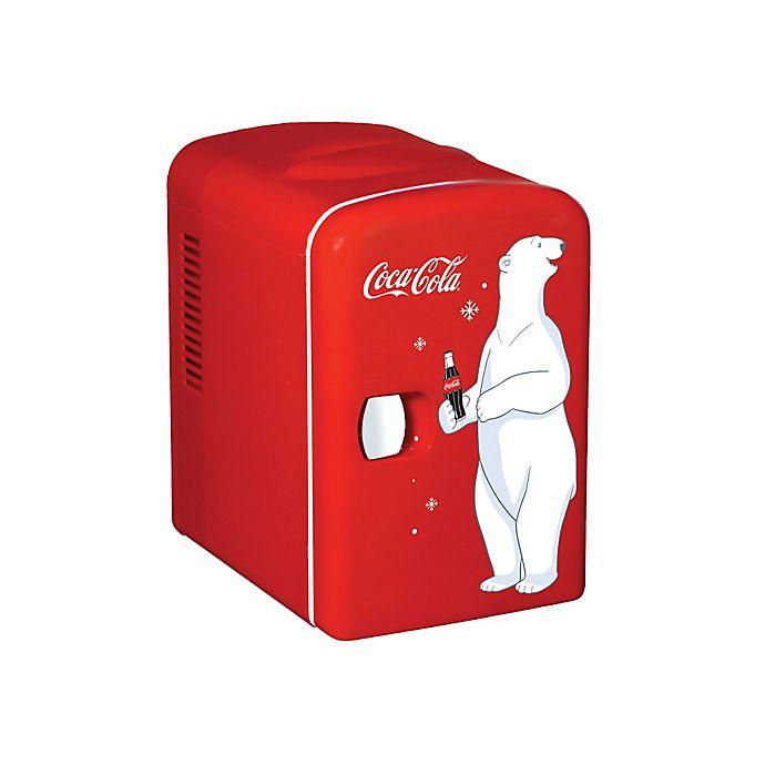 Alternate image 1 for Coca-Cola® Personal Fridge in Red