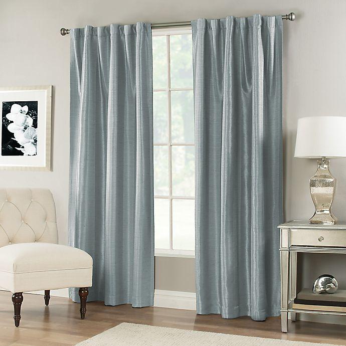 Alternate image 1 for Vernet Rod Pocket/Back Tab Window Curtain Panel