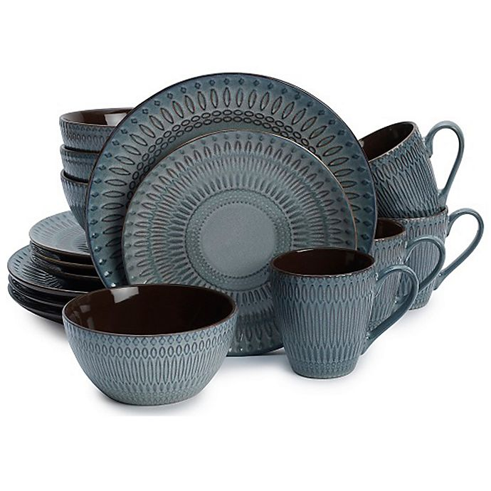 Alternate image 1 for Gourmet Basics by Mikasa® Broadway 16-Piece Dinnerware Set