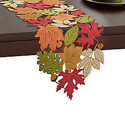 Serene Leaves Table Runner