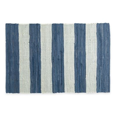 Chindi Hand-Woven Kitchen Rug