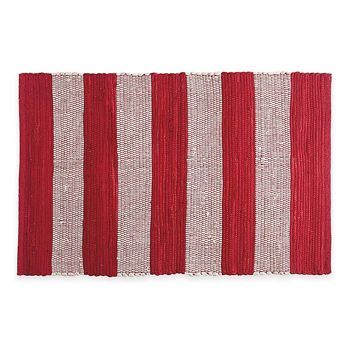 Chindi Hand-Woven Kitchen Rug | Bed Bath & Beyond