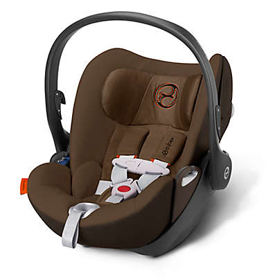 Cybex Cloud Q Infant Car Seat with Load Leg Base in Coffee Bean