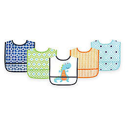 BabyVision® Luvable Friends® 5-Pack Waterproof Dino Bib